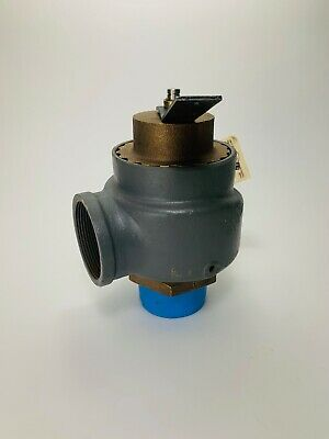 KUNKLE VALVE 0930-H01-GC-15 Safety Relief Valve 2 in x 2 in 15 psi SAVE !!!