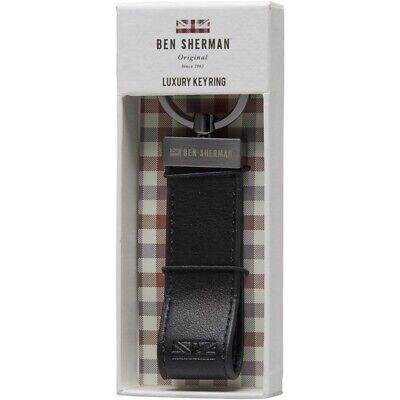 BNWT /& Boxed Brown Leather Lanyard Keychain RRP:£100 Paul Smith Keyring