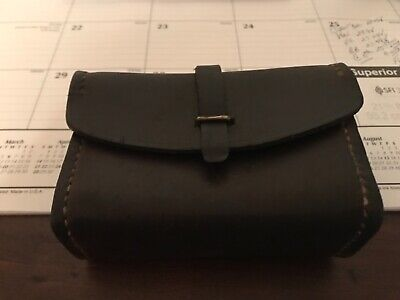 Vintage 1942 WW2 WWII BAR Leather Spare Parts Tool Ammo Pouch