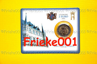 Luxemburg - Luxembourg - 2 euro 2005 comm.(Coincard)
