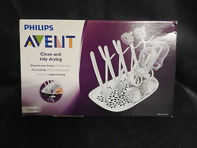Philips Avent Clean and Tidy Bottle Drying Rack with Detachable Tray - NIP