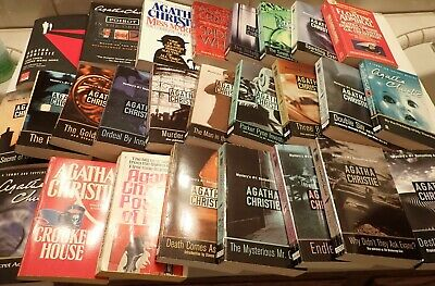 Agatha Christie Lot of 26 Mystery Paperback Books