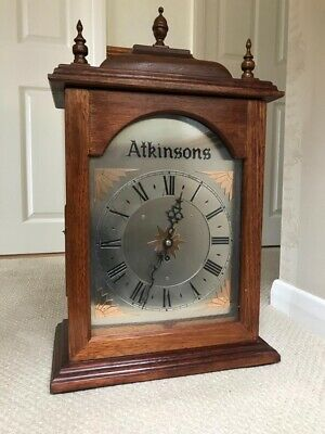 Magnificent Solid Mahogany Atkinson's Single Fusee Bracket Clock