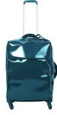 LIPAULT Paris - PLUME - 72 Cm- Carry-On Four Wheeled Luggage - Blue New