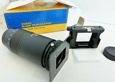 Vintage OHNAR Zoom Slide Duplicator For SLR Cameras A1 Condi in Box Instructions