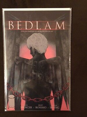 Bedlam 4 Nm+, First Print, Nick Spencer, Riley Rossmo