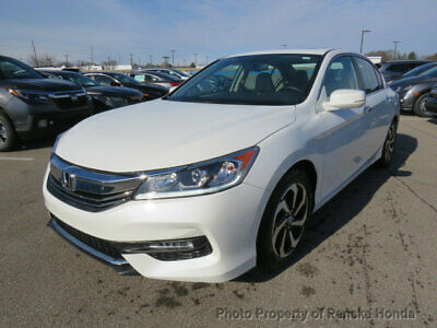 2016 Honda Accord Sedan 4dr I4 CVT EX-L 4dr I4 CVT EX-L Sedan CVT Gasoline 2.4L 4 Cyl White Orchid Pearl