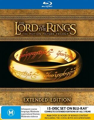 Lord Of The Rings - Extended Edition | Box Set, Blu-ray