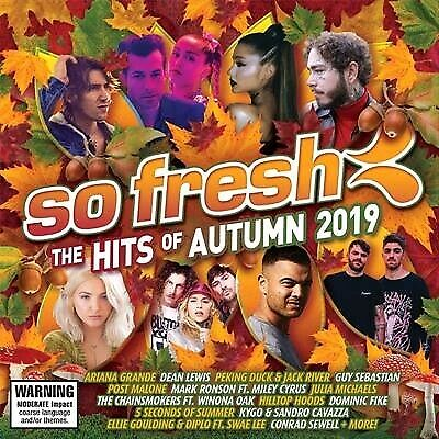 Various, So Fresh - Hits Of Autumn 2019, CD