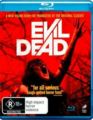 NEW Evil Dead (2013) Blu Ray Free Shipping