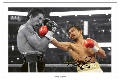 4x6 SIGNED AUTOGRAPH PHOTO PRINT OF Manny Pacquiao #38