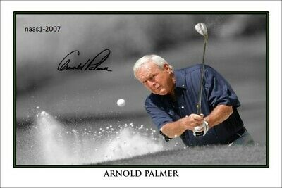 4x6 SIGNED AUTOGRAPH PHOTO PRINT OF Arnold Palmer #38