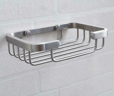 Wall Mounted Brushed Nickel Stainless Steel 304 Soap Dish Holder Soap Bracket