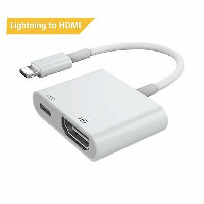 Lightning to Digital AV TV HDMI Cable Adapter For Ipad iPhone 6S 7 8 Plus 5S
