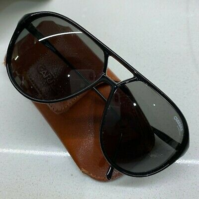 82d3b378fc VINTAGE PORSCHE DESIGN Carrera sunglasses 5623 96 Black w Lenses ...