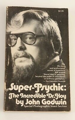 Super-Psychic: The Incredible Dr. Hoy by John Godwin SIGNED COPY