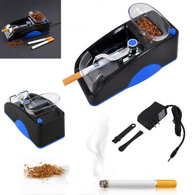 Red Electric Cigarette Automatic Rolling Machine Tobacco Injector Maker Roller