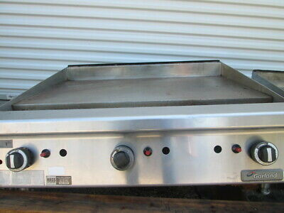 "Garland GTGG36-GT36M Natural Gas 36"" Flat Top Griddle Countertop Cook Top Range"