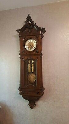 Gustav Becker 2 weight Vienna Regulator clock