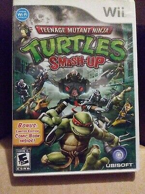 Teenage Mutant Ninja Turtles: Smash Up (Nintendo Wii, 2007) pre owned