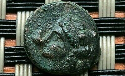 "Ephesos, Ionia 305-288 Bc Ae12 ""Female & Bee"" Ancient Greek Coin"