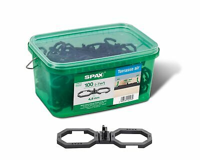 SPAX Air, for Better Ventilation, in Handle Box, Black, 5009422545009