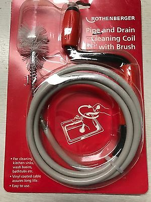 Sink Drains Bath Rothenberger CLEANING COIL 72091 for basin