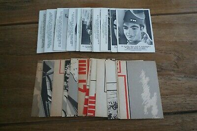 Somportex Thunderbirds Cards - Large Version -1966 VGC - Pick The Cards You Need