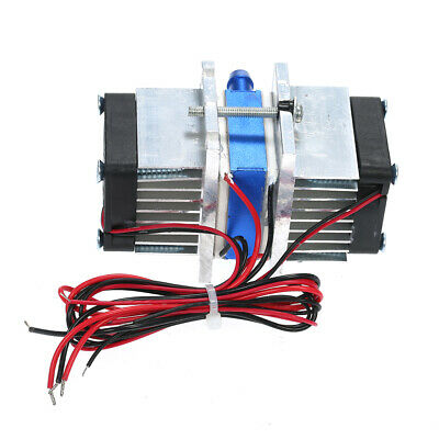 Semiconductor Thermoelectric Cooler Peltier Refrigeration Water Cooling System