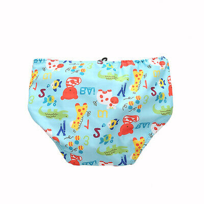 Baby & Toddler Swim Diapers Lace-up Adjustable Waterproof Leakage-proof M0L4