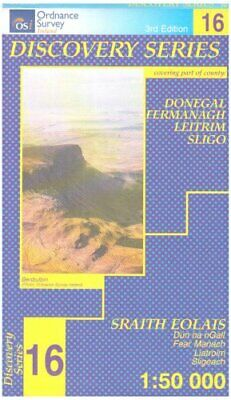 Donegal (Irish Discovery Maps Serie... by Ordnance Survey Irel Sheet map, folded
