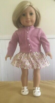 American Girl Doll Kit Kittredge Doll In Meet Outfit ~ Excellent Condition