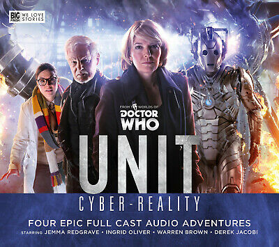 DOCTOR WHO UNIT CYBER-REALITY Big Finish Audio CD Set UK Import