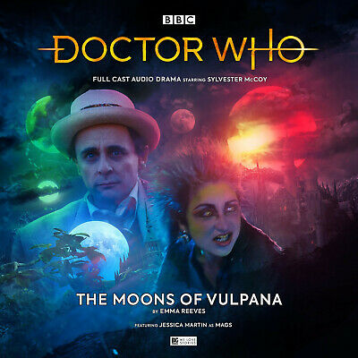 DOCTOR WHO 251 THE MOONS OF VULPANA Big Finish Audio CD UK Import BRAND NEW!