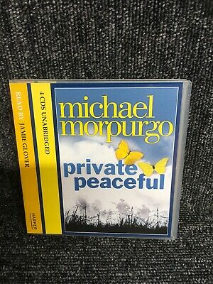 PRIVATE PEACEFUL AUDIO CD MICHAEL MORPURGO 4 CD SET. Audiobook. Vgc. Freepost