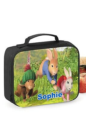 Peter Rabbit Personalised School Insulated Lunch bag