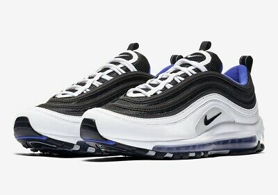 8eb74a84dc 921826 403] NEW Men's Nike Air Max 97 Midnight Navy Habanero Red ...
