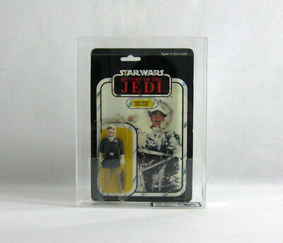 NEW 1983 Vintage Star Wars ✧ Han Solo ✧ Hoth WEAPON ERROR PINK FACE UKG 80/85/90