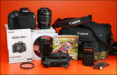 Canon EOS 1200D DSLR Camera, With 18-55mm Zoom Lens kit + Battery & USB Charger