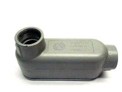 Appleton LB-125 Conduit Body 1-1/4 Inch With Aluminum Cover K125150-A
