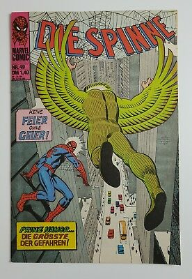 Marvel Comic - Die Spinne Heft 49 - (Z2) Williams Verlag (0766)