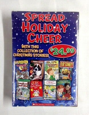 Scholastic Paperback Book Set - Collection Of (7) Christmas Stories - New