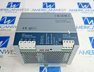 CABUR XCSG500C 3 Phase Triple Power Supply 400-500 Vac 24 Vdc 20A