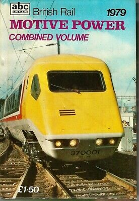 abc Ian Allan British Rail MOTIVE POWER Combined Volume 1979