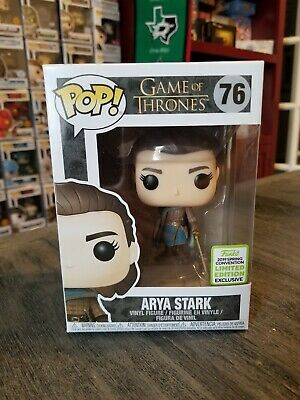 Funko Pop Game of Thrones - 2019 ECCC Shared Exclusive Arya Stark