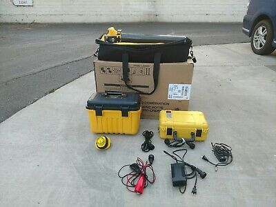 Vivax Metrotech DM2 and 150tx transmitter, cable pipe locator, defect mapper set