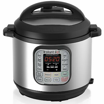 Instant Pot DUO60 6 Qt 7-in-1 Multi-Use Programmable Pressure/Slow Cooker