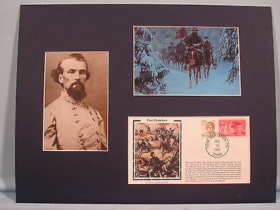 Nathan Bedford Forrest Escapes from Fort Donelson & Commemorative Cover