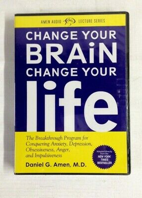 Change Your Brain Change Your Life - Daniel G. Amen, Md - Audio Set - New