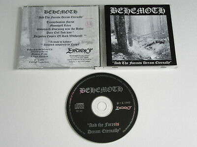 BEHEMOTH And the Forests Dream Eternally CD 1995 RARE ORIG. 1st PRESS ENTROPY!!!